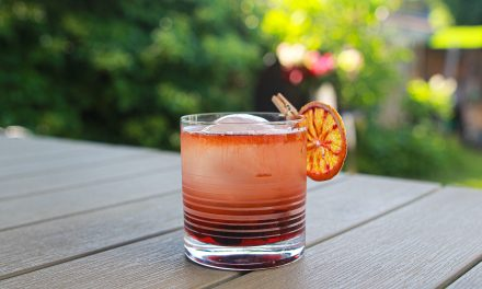 Smoked Cherry Old Fashioned